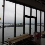 Uitzicht vanuit Diesel Kantoor